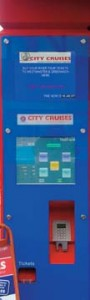 City Cruises Ticket Kiosk