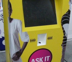 Sexual health vending kiosk