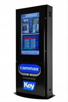 Duo Kiosk with Cammax Logo