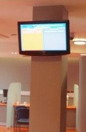Display Screen at Kings College