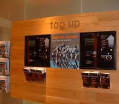 E-Top Up Kiosk in Orange mobile phone store