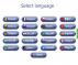 Kiosk language options to choose