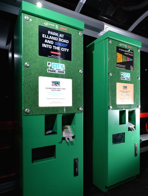 City Park & Ride Ticket Kiosks