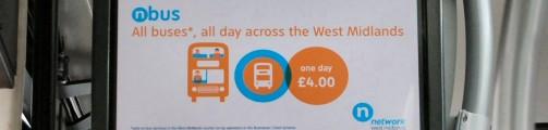 Digital signage buses