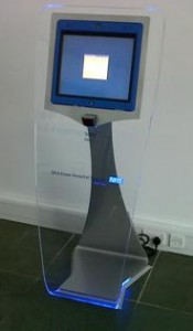 ClearView Kiosk at Mid Essex Hospital
