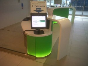 Self Check In Kiosks in Pembury Hospital