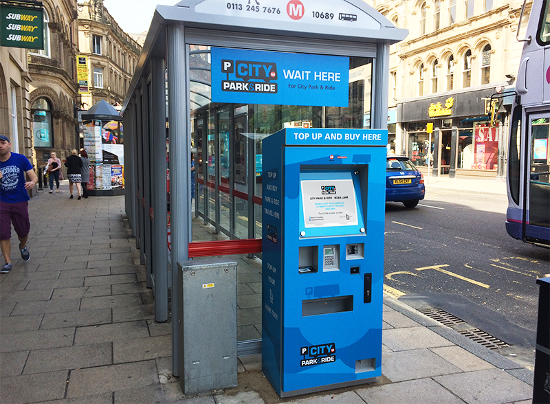 SMART Ticketing Kiosk Rolled out in Leeds City Centre | Cammax